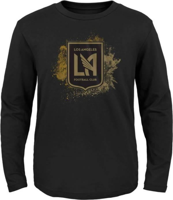 MLS Youth Los Angeles FC Splashin' Black Long Sleeve Shirt product image