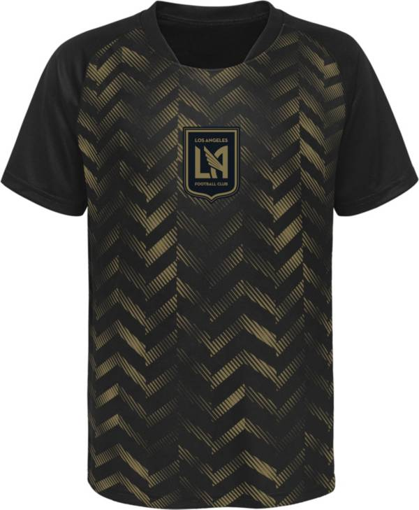 MLS Youth Los Angeles FC Sublimated Black Jersey product image