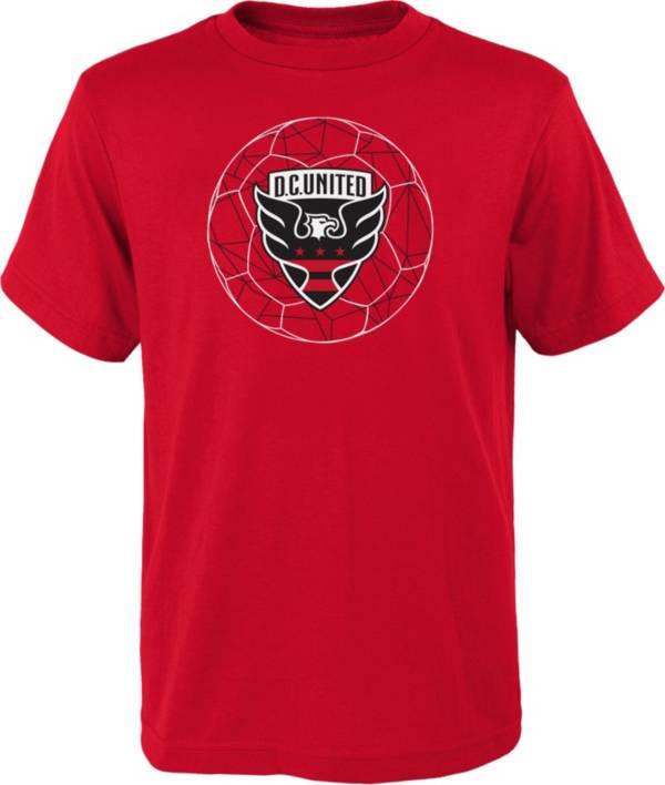 MLS Youth D.C. United Quartz Red T-Shirt product image