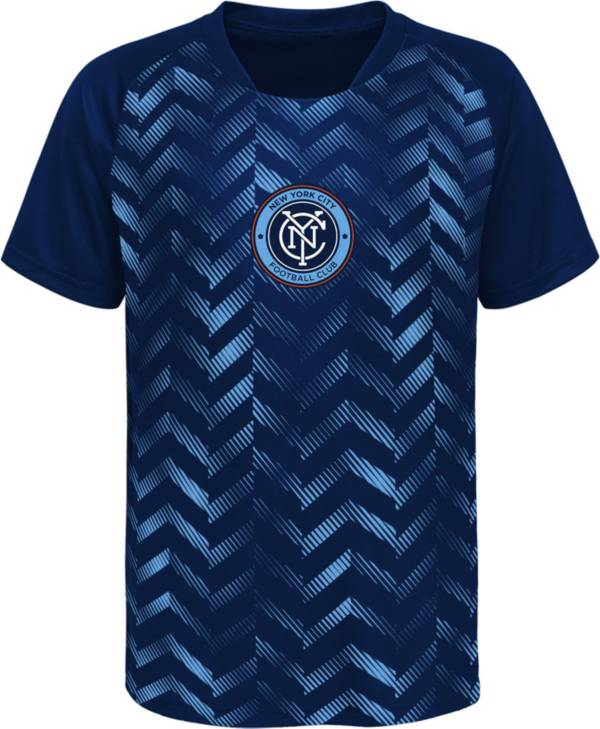 MLS Youth New York City FC Sublimated Blue Jersey product image