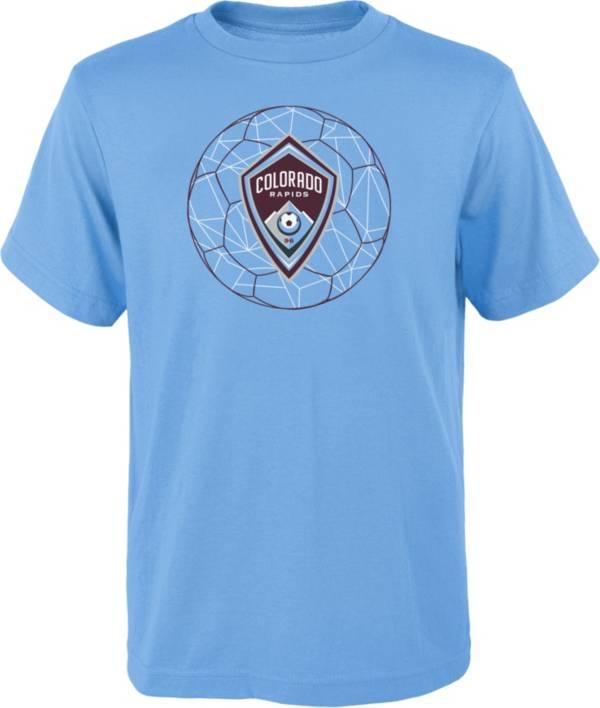 MLS Youth Colorado Rapids Quartz Blue T-Shirt product image