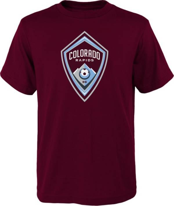 MLS Youth Colorado Rapids Logo Maroon T-Shirt product image