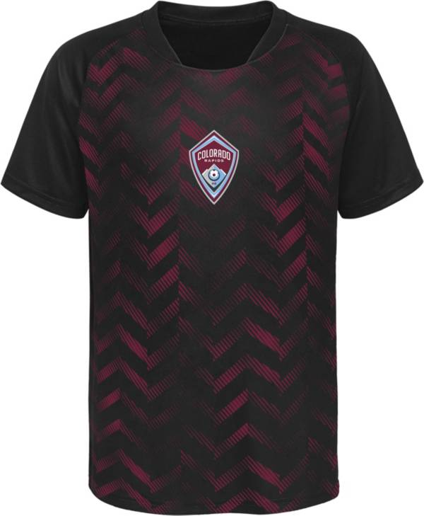 MLS Youth Colorado Rapids Sublimated Maroon Jersey product image