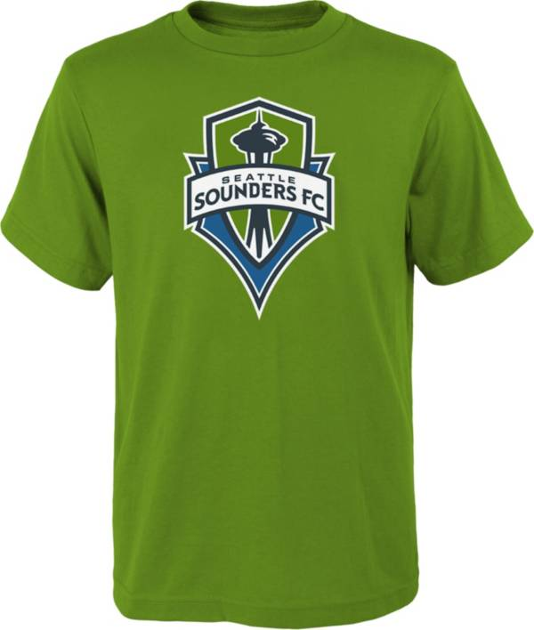 MLS Youth Seattle Sounders Logo Green T-Shirt product image