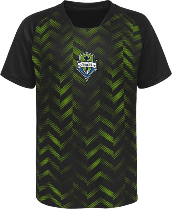 MLS Youth Seattle Sounders Sublimated Green Jersey product image