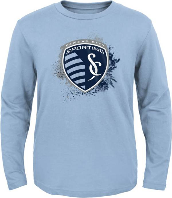 MLS Youth Sporting Kansas City Splashin' Blue Long Sleeve Shirt product image