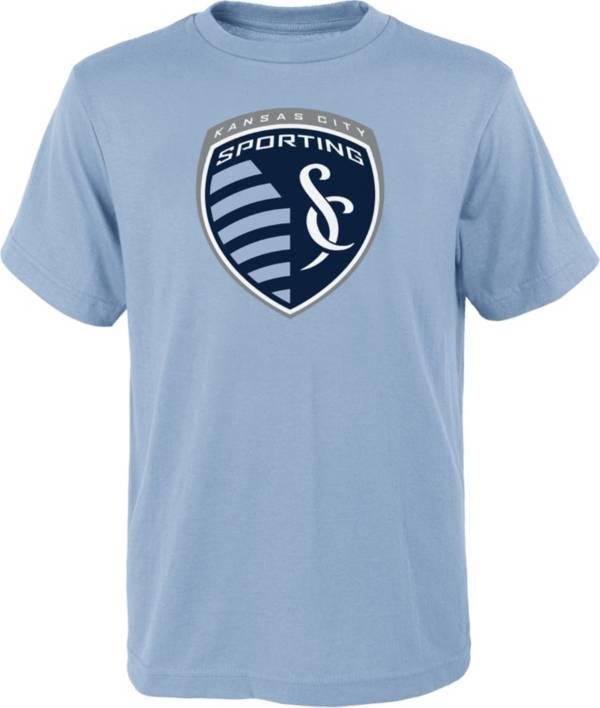 MLS Youth Sporting Kansas City Logo Blue T-Shirt product image