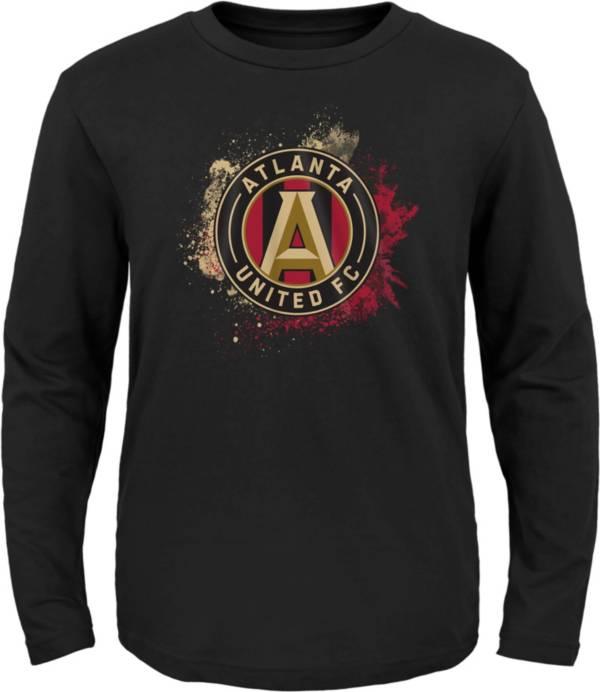 MLS Youth Atlanta United Splashin' Black Long Sleeve Shirt product image