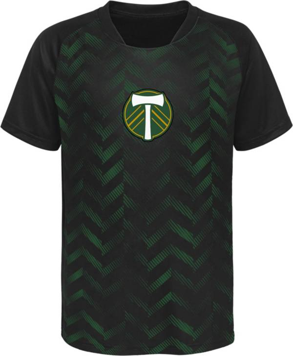 MLS Youth Portland Timbers Sublimated Green Jersey product image