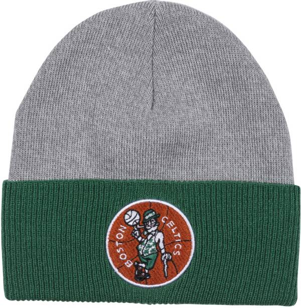 Mitchell & Ness Men's Boston Celtics Cuffed Knit Beanie product image