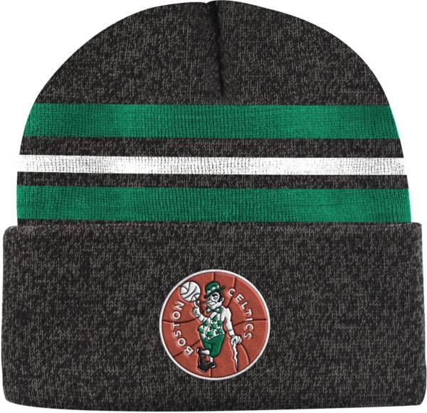 Mitchell & Ness Men's Boston Celtics Grey Cuffed Knit Beanie product image