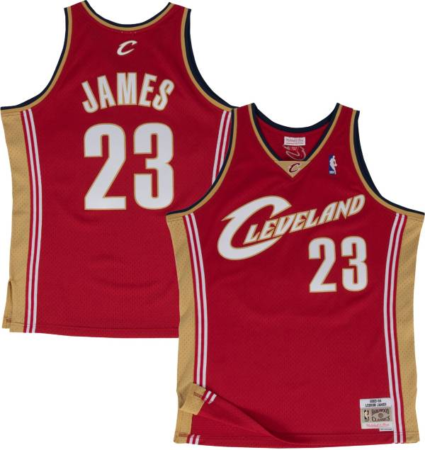 Mitchell & Ness Men's Cleveland Cavaliers LeBron James #23 Swingman Jersey product image
