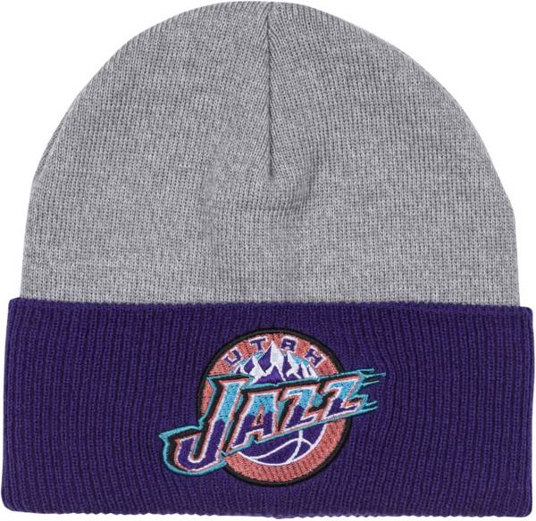 Mitchell & Ness Men's Utah Jazz Cuffed Knit Beanie product image