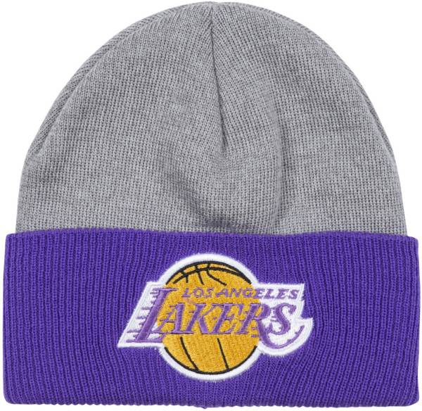 Mitchell & Ness Men's Los Angeles Lakers Cuffed Knit Beanie product image