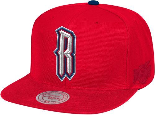 5b4e95646e54a Mitchell   Ness Men s Houston Rockets Adjustable Snapback Hat.  noImageFound. Previous