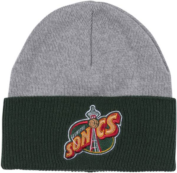 Mitchell & Ness Men's Seattle SuperSonics Cuffed Knit Beanie product image