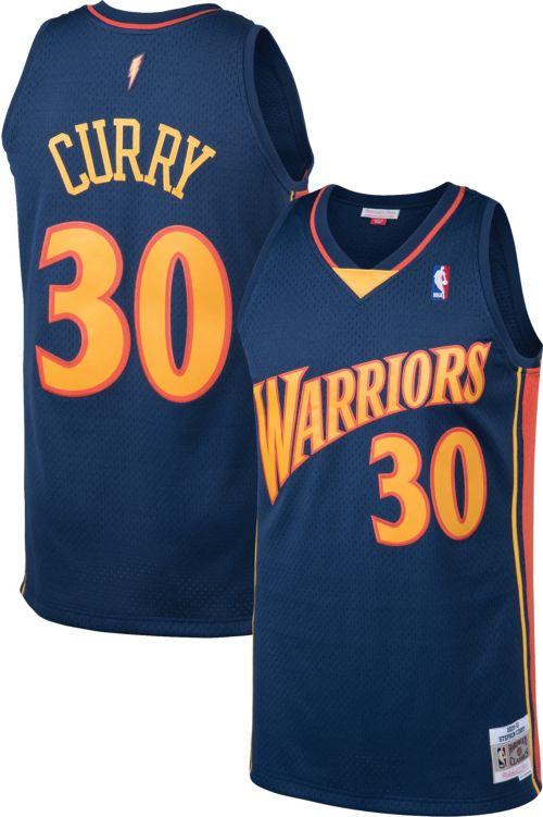 7eb89449bb8 Mitchell   Ness Men s Golden State Warriors Stephen Curry  30 Swingman  Jersey. noImageFound. Previous