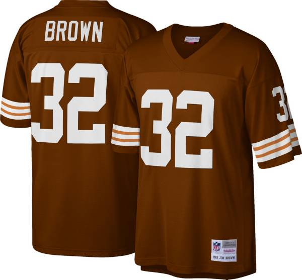 Mitchell & Ness Men's 1963 Game Jersey Cleveland Browns Jim Brown #32 product image