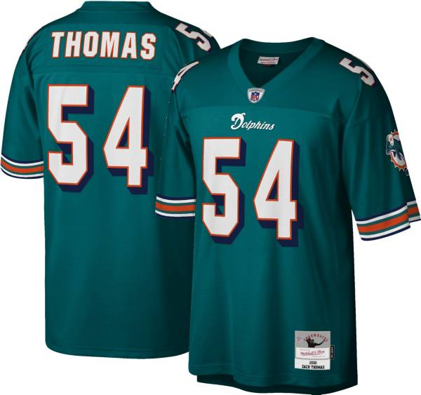 Mitchell & Ness Men's 2006 Game Jersey Miami Dolphins Zach Thomas #54 product image