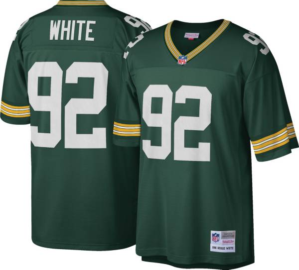 Mitchell & Ness Men's 1996 Game Jersey Green Bay Packers Reggie White #92 product image
