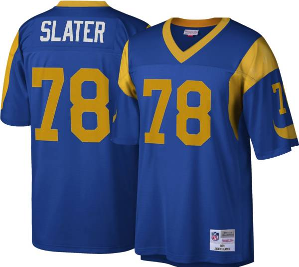 Mitchell & Ness Men's Los Angeles Rams Jackie Slater #79 Royal Blue Jersey product image
