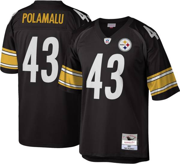 Mitchell & Ness Men's 2005 Game Jersey Pittsburgh Steelers Troy Polamalu #43 product image