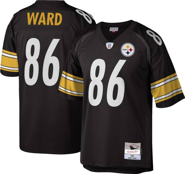 Mitchell & Ness Men's 2005 Game Jersey Pittsburgh Steelers Hines Ward #86