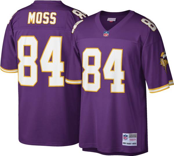Mitchell & Ness Men's 1998 Game Jersey Minnesota Vikings Randy Moss #84