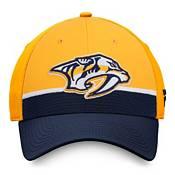 NHL Men's Nashville Predators Authentic Pro Draft Yellow Flex Hat product image