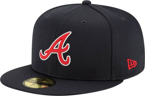 New Era Men's Atlanta Braves Navy 59Fifty Clubhouse Fitted Hat product image