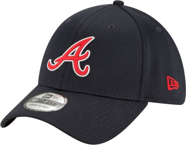 New Era Men's Atlanta Braves Navy 39Thirty Clubhouse Stretch Fit Hat product image
