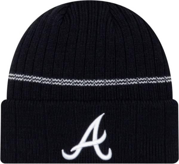 New Era Men's Atlanta Braves Navy Sports Knit Hat product image