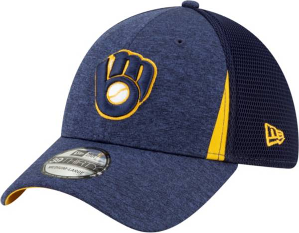 New Era Men's Milwaukee Brewers 39Thirty Stretch Fit Hat product image