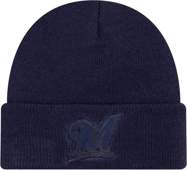New Era Men's Milwaukee Brewers Vivid Knit Hat product image