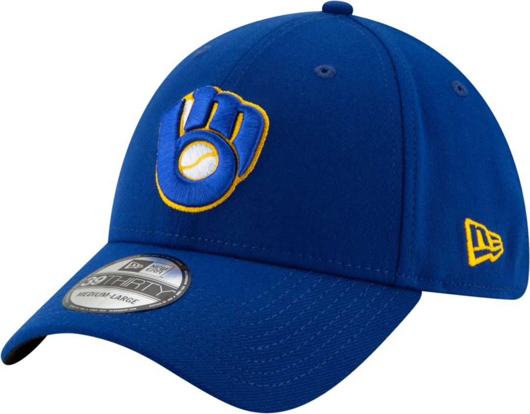 buy popular 38354 a0cc5 New Era Men s Milwaukee Brewers 39Thirty Stretch Fit Hat. noImageFound.  Previous