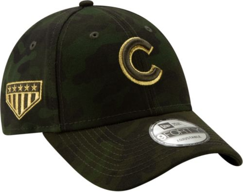 e25cd42b8f61fe New Era Men's Chicago Cubs 9Forty Armed Forces Adjustable Hat.  noImageFound. Previous