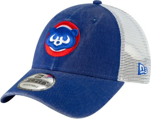 3d75d168090 New Era Men s Chicago Cubs 9Forty Cooperstown Trucker Adjustable Hat.  noImageFound. Previous