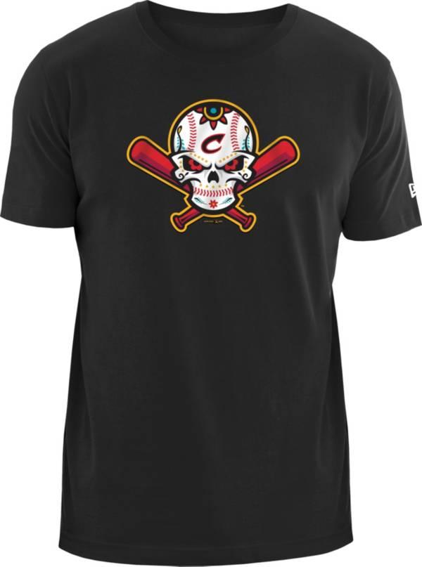 New Era Men's Columbus Clippers Black 2020 COPA T-Shirt product image
