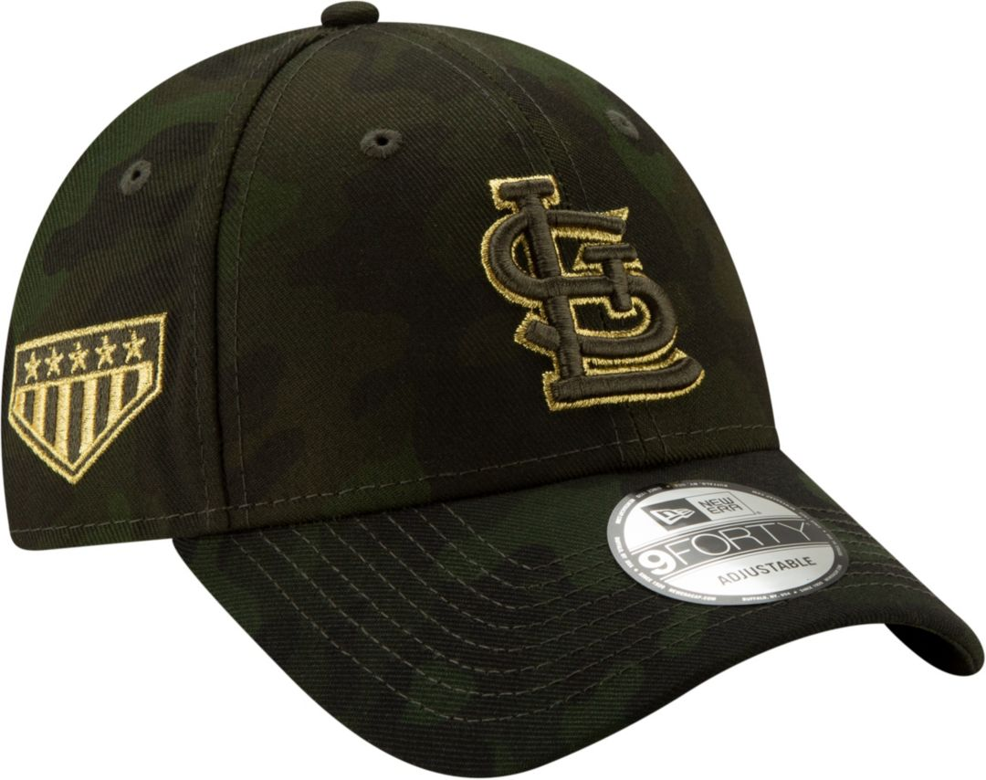 new concept 568fb 373f8 New Era Men s St. Louis Cardinals 9Forty Armed Forces Adjustable Hat.  noImageFound. Previous