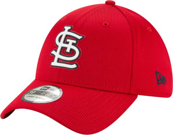 New Era Men's St. Louis Cardinals Red 39Thirty Clubhouse Stretch Fit Hat product image