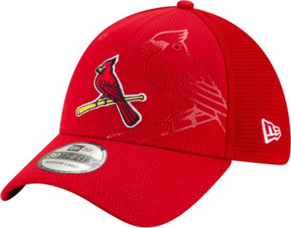 New Era Men's St. Louis Cardinals Red 39Thirty Tonel Neo Stretch Fit Hat product image