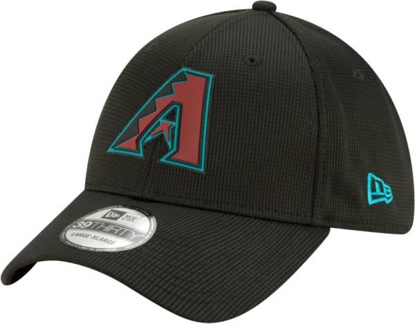 New Era Men's Arizona Diamondbacks Black 39Thirty Clubhouse Stretch Fit Hat product image