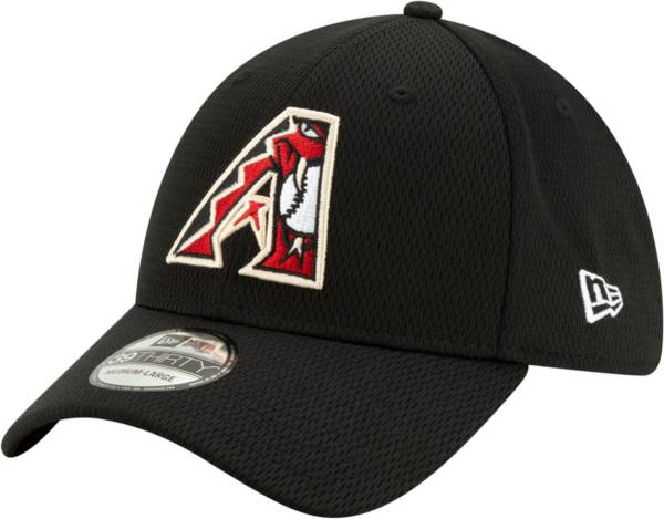 New Era Men's 2020 Spring Training Arizona Diamondbacks Black 39Thirty Stretch Fit Hat product image