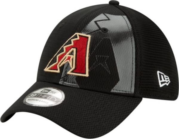 New Era Men's Arizona Diamondbacks Black 39Thirty Tonel Neo Stretch Fit Hat product image