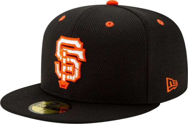 New Era Men's San Francisco Giants 59Fifty Black Batting Practice Fitted Hat product image