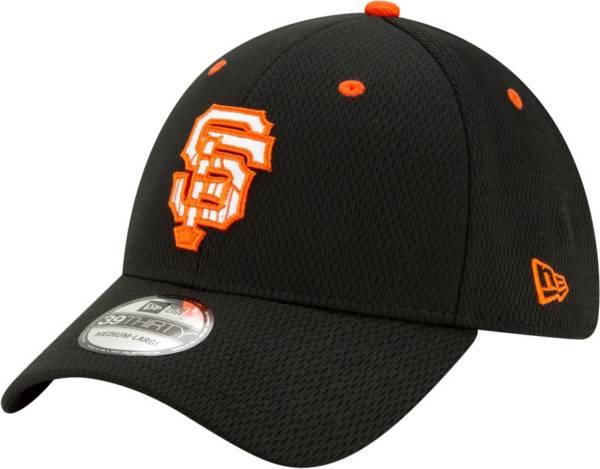 New Era Men's San Francisco Giants 39Thirty Black Batting Practice Stretch Fit Hat product image