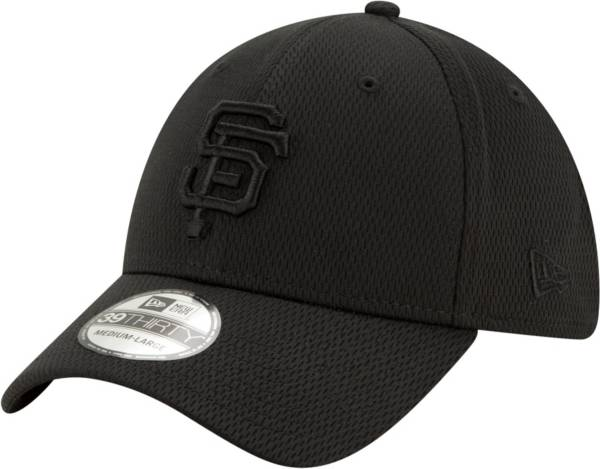New Era Men's San Francisco Giants Black 39Thirty Perftone Stretch Fit Hat product image
