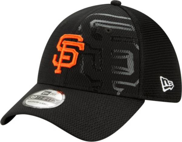New Era Men's San Francisco Giants Black 39Thirty Tonel Neo Stretch Fit Hat product image