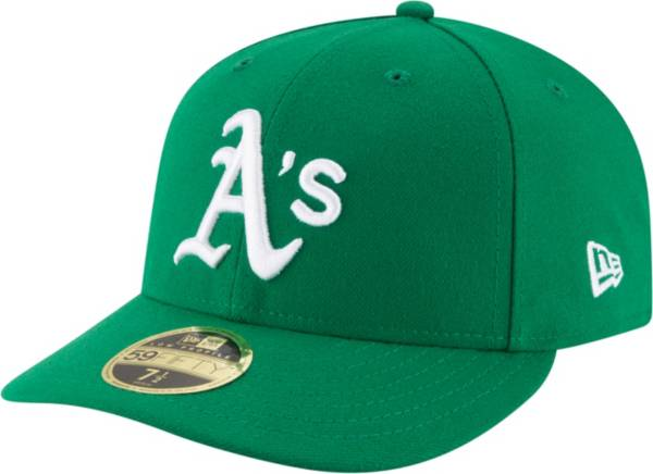 New Era Men's Oakland Athletics 59Fifty Alternate Green Low Crown Fitted Hat product image