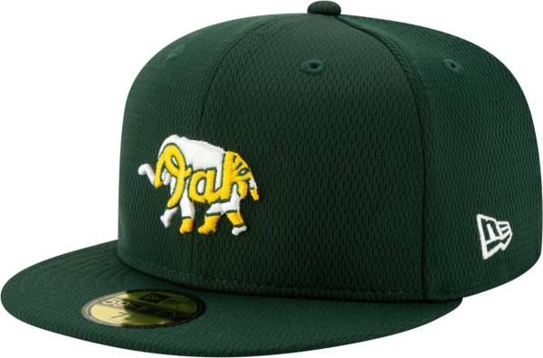 New Era Men's Oakland Athletics 59Fifty Green Batting Practice Fitted Hat product image